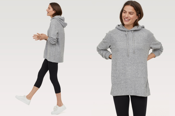oversized hoodie from H&M