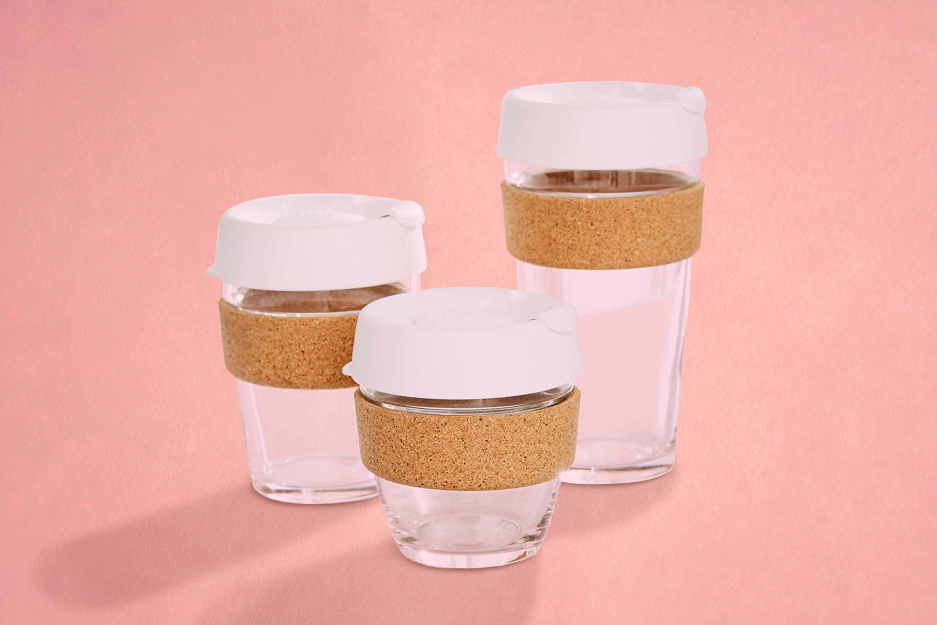 Cork mugs are trendy and cool