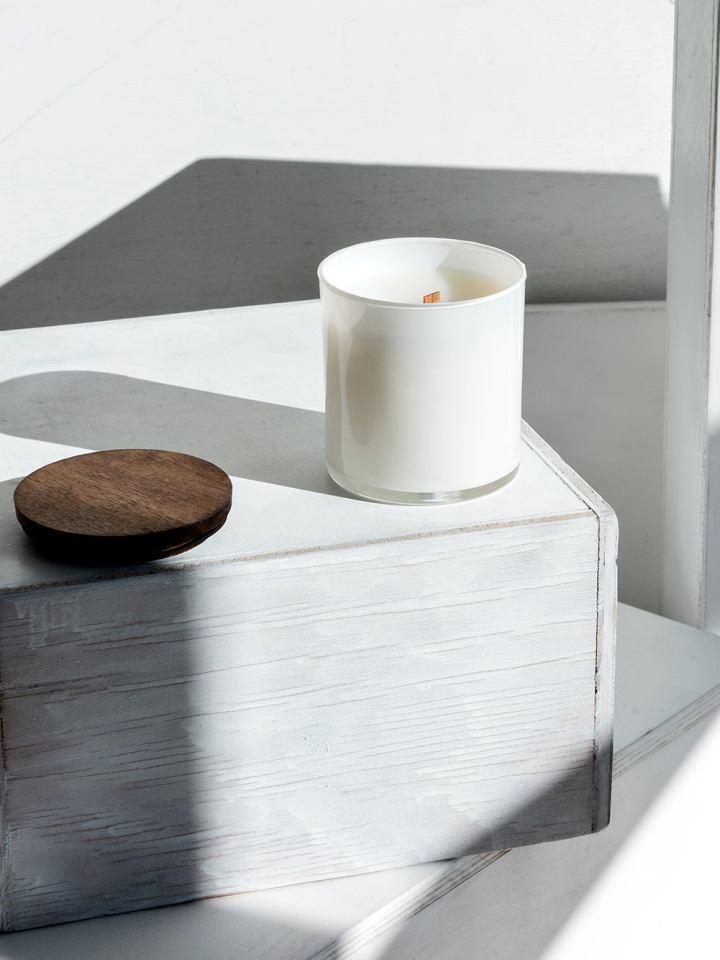 Lumberland Candle, Handmade